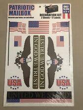 Vintage Patriotic 🇺🇸 Mailbox Decoration Kit 🇺🇸 Unopened New