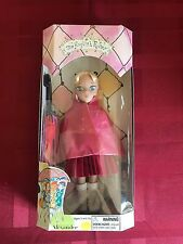 2004 Madame Alexander The English Roses Binah NIB Blonde Blue Eye Pink Coat