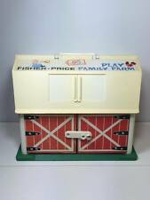 Vintage Fisher Price play farm with animals and fencing