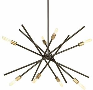 Progress Lighting Astra Collection 8-Light Antique Bronze Chandelier P400109-020