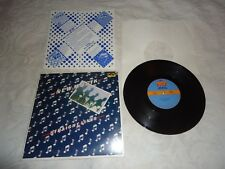 """NEW MUSIK-STRAIGHT LINES 1979 NU DISK RECORDS 10"""" 4-SONG EP 3E 36450 EXC. VG+"""