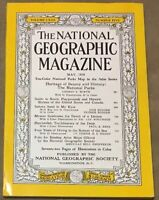 National Geographic Magazine May 1958 No map, National Parks, Bottom of the Sea