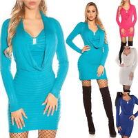 Dkny Women S Donna Karan Sweater Dress Size L Ebay