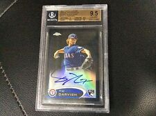 2012 Topps Chrome Yu Darvish RC BGS 9.5 Auto Black Refractor 51/100 Autograph