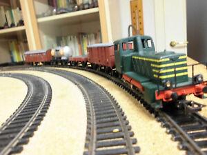 Treno merci italiano Rivarossi H0