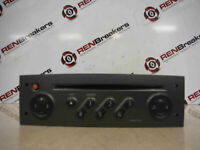 Renault Megane Scenic 2003-2009 CD Player Radio Tuner List Grey + Code