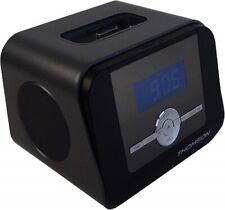 Thomson CR308i Uhrenradio FM PLL Tuner iPhone iPod Dock Aufladegeraet LCD AUX