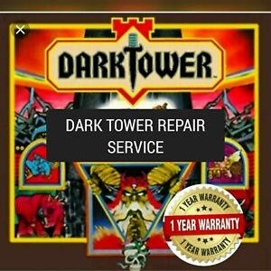1981 Dark Tower Board Game Whooooo NEW Speaker with Dark Tower Printed Part