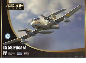 Kinetic Gold 1/48 F.M.A. IA-58A Pucara # 48078
