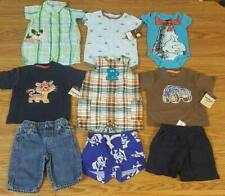 Baby Boys 3 Months Spring Summer Clothes Lot Carters Osh Kosh