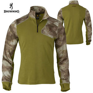 Browning Hell's Canyon Speed MHS 1/4 Zip Pullover (M)- ATACS AU