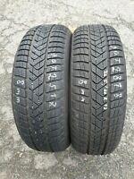 2x Winterreifen Pirelli Sottozero3 205/60 R17 93H MS 8mm DOT2518