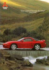 MITSUBISHI 3000 GT 1994-97 UK Opuscolo Vendite sul mercato