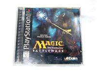 Magic The Gathering Battlemage Complete PS1 Authentic Playstation 1 TESTED!