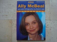 ALLY McBeal TV cult series Calista Flockheart excl. RARE OOP import photo book
