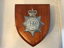 More details for avon and somerset constabulary wall plaque / shield ( metal badge version )