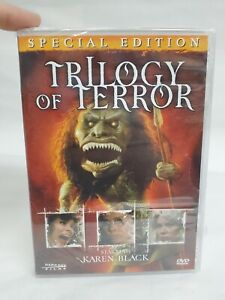Trilogy of Terror (DVD, 2006, Special Edition) Brand New Factory Sealed OOP