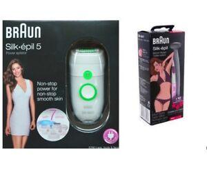 BRAUN 5780 Silk-epil 5 Legs Body Face Epilator + BONUS Bikini Trimmer FG1100 NEW