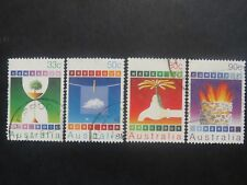 Australia Conservation 1985 - Set of 4 - Good Used Condition