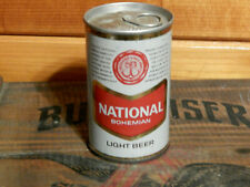 8 oz. Bottom Opened National Bohemian Tab Top Beer Can(Usbc#29-2)Baltimore,M d