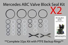 Mercedes ABC Valve Block PTFE reseal rebuild kit ***2 kits pack*** S CL SL