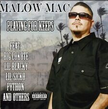 Malow Mac - Playing for Keeps [New CD] Explicit, Enhanced