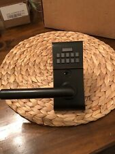 Emtek E2020 Modern Electronic Keypad Leverset Oil Rubbed Bronze Left Hand