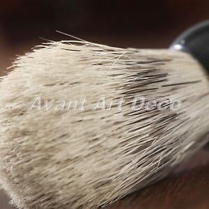 Pro Best Badger Hair Shaving Brush + Stainless Steel Soap Bowl Mug Men's Gift