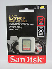 Sandisk 64G extreme V30 4K Ultra HD SD card for Panasonic Lumix ZS100 ZS60 ZS50