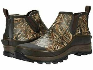 NEW Western Chief Realtree Max 5 Rubber Ankle Boots Brown MENS 10-14 WATERPROOF