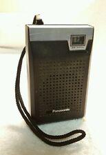 Panasonic R-1028 AM Transistor Radio Vintage TESTED FREE SHIPPING
