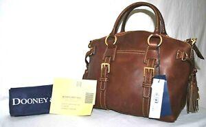 Dooney & Bourke Florentine Bristol Satchel, Chestnut  $398  A394676