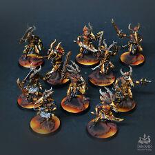 Infernal Tzaangors 10men unit  warhammer 40K ** COMMISSION **  painting