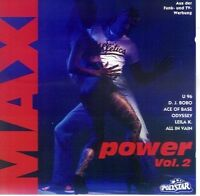 Maxi Power 2 (1993) U96, Dj Bobo, Ace of Base, Odyssey, Leila K.. [2 CD]