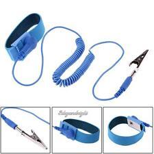 Anti-Static Wristband Adjustable Strap Discharge Antistatic Grounding Bracelet