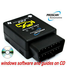 ELM327 Bluetooth OBD 2 CAN Scan Tool Android Windows OBD Reader Scanner
