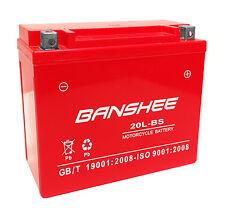 Banshee GTX20LBS YTX20LBS YTX20HLBS MaintenanceFree Jetski ATV Motorcycl Battery