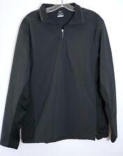 Nike Sphere Pro Half Zip Waterproof Breathable Pullover Jacket, Black, Men's M