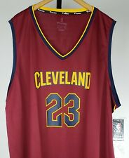LeBron James # 23 Cleveland Cavs NBA Fanatics FastBreak Red Road Jersey 4XL NWT