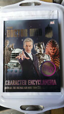 DOCTOR WHO CHARACTER ENCYCLOPEDIA UPDATED EDITION DR WHO DALEKS CYBERMEN AUTONS