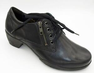 Fidelio Hallux Schuhe Schnürer u Reißverschluss Damen Leder Weite H  Neu 401/9
