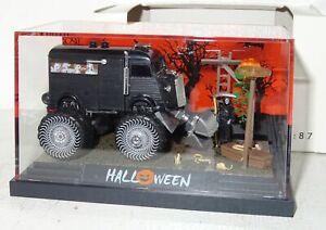 SB677 Busch HO 7641 Halloween 12 Dioarama 1:87 PC + OVP