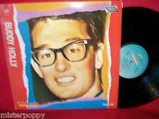 BUDDY HOLLY rare Promo only LP ITALY Unique Art Cover MINT >