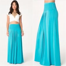 Bebe Pleated Maxi Skirt Size 6