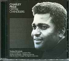 CHARLEY PRIDE CRYSTAL CHANDELIERS CD - OKLAHOMA MORNING, KAW-LIGA & MORE