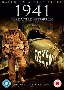 1941 - THE BATTLE OF TOBRUK  - DVD **NEW SEALED**FREE POST**