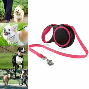 High Quality Extendable Retractable 8M Pet Dog Training Lead Leash Hold Max 50KG