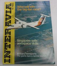 Interavia Magazine Singapore Sells Aerospace Skills December 1983 FAL 081915R2
