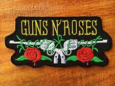 Gun N' Roses Rock Band Logo Music Sew Embroidery Heat iron on patch badge