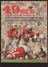 1963 NFL Football San Francisco 49'ers Yearbook EX